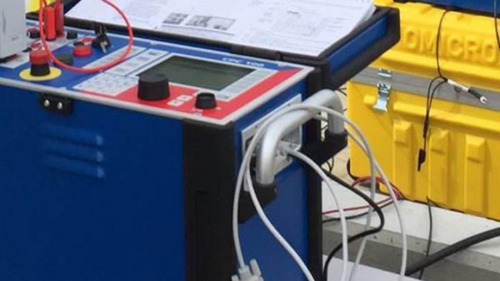 Comissionamento e ensaios elétricos em subestação